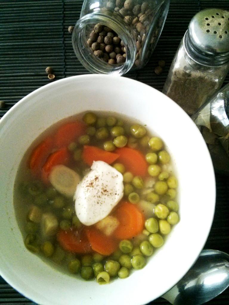 Zupa groszkowa