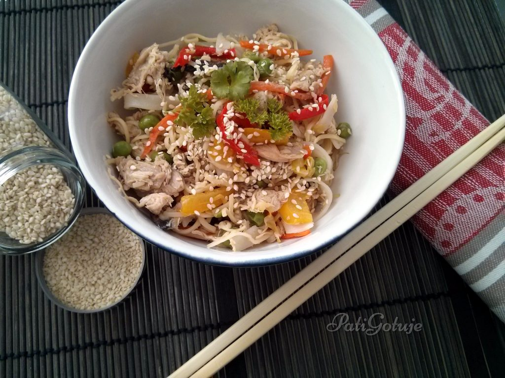 makaron chiński