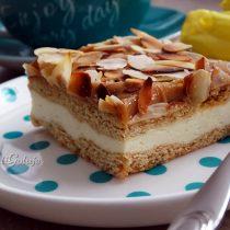 Ciasto miodowo-śmietankowe