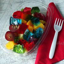 Sałatka owocowa z galaretkami