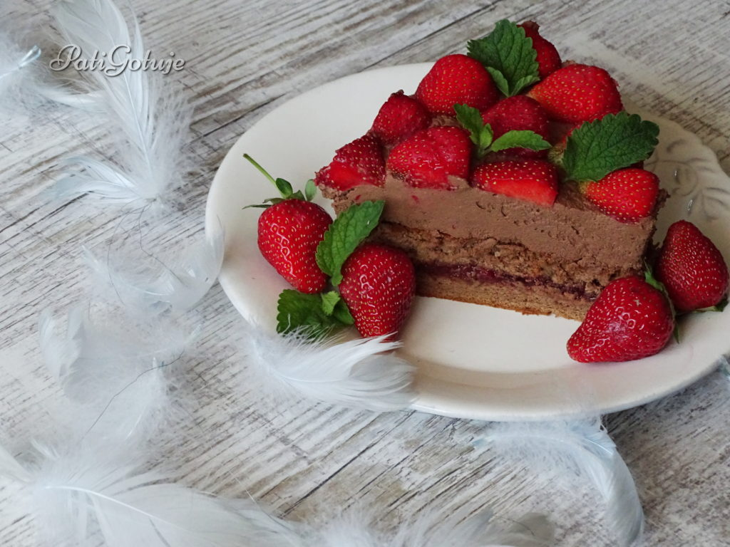 Tort czekoladowa rozkosz