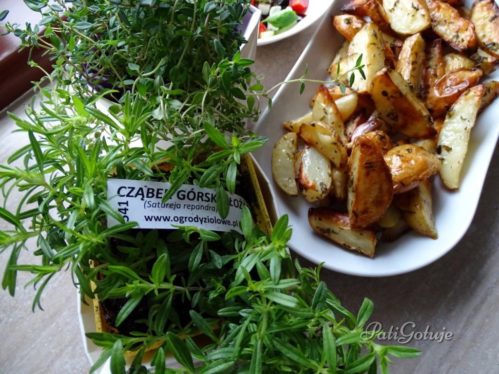 Grillowane ziemniaczki ziołowe