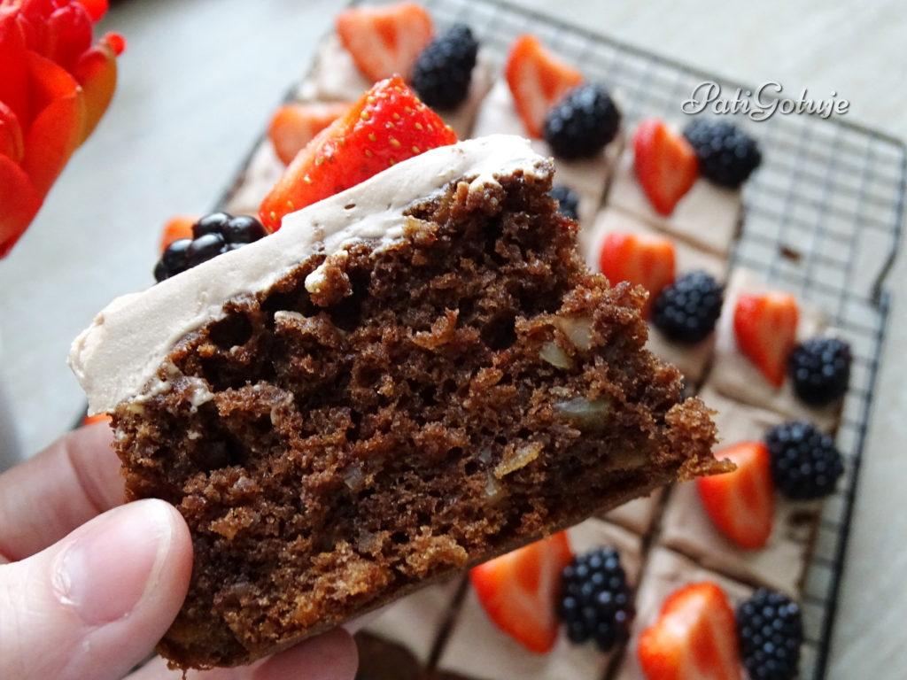 Ciasto z Nutellą i migdałami