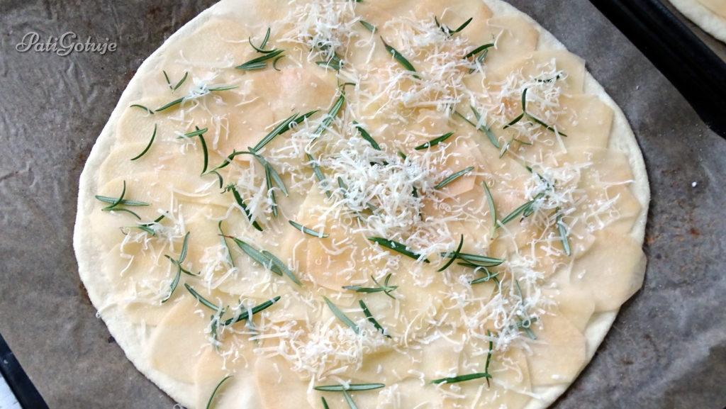 Ciasto na pizze II