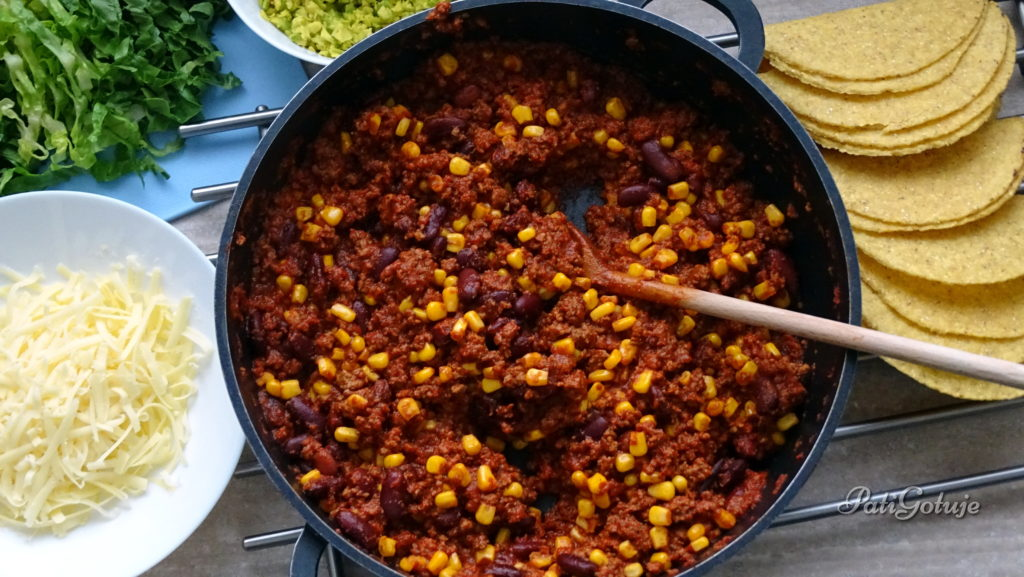 Taco z chili
